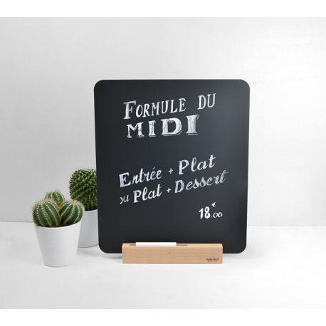 Ardoise déco table Reine Mère - Ardoise menu avec chevalet ...