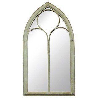 Gothic Style Chapel Glass Mirror Dunelm Glass Mirror Mirror Wrought Iron Mirror