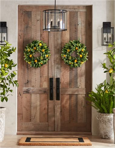 Home Decor Furnishings Accents Pottery Barn In 2020 Front Door Decor Front Door Accessories Decor