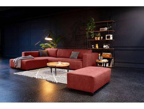 Tom Tailor Eck Couch Heaven Style M Orange Komfortabler Federkern In 2020 Sofa Ecksofa Bettkasten