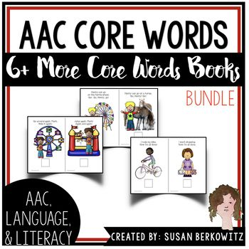 AAC Core Words Interactive Books 3 Set Bundle | Words, Book