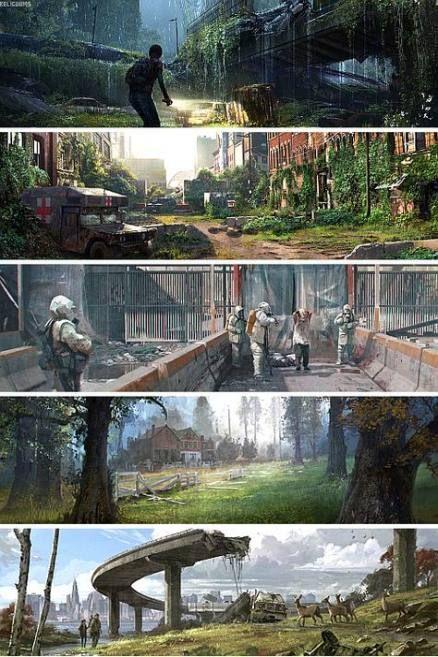 62+ Ideas The Last Of Us Concept Art Environment