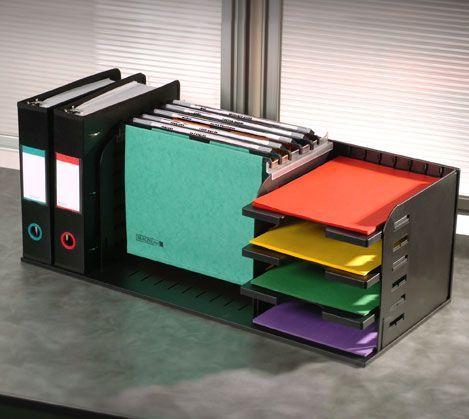 Office Storage And Organization Solution Versafile 5 Divider 3 Shelf Organizer Divid In 2020 Desk Organization Office Supply Organization Office Organization At Work