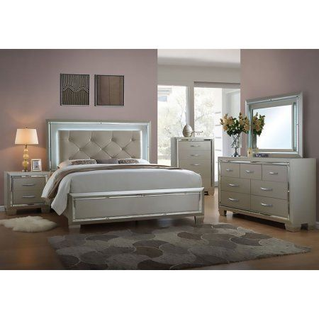 Cambridge Elegance 5 Piece Bedroom Suite King Bed Dresser
