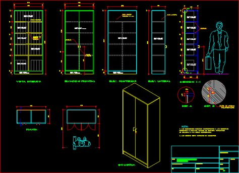 Metal Cabinet In Autocad Cad Download 102 94 Kb Bibliocad