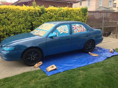 Rolled On Paint Job Rolla Car Paint Jobs Rustoleum Car Paint Paint Job