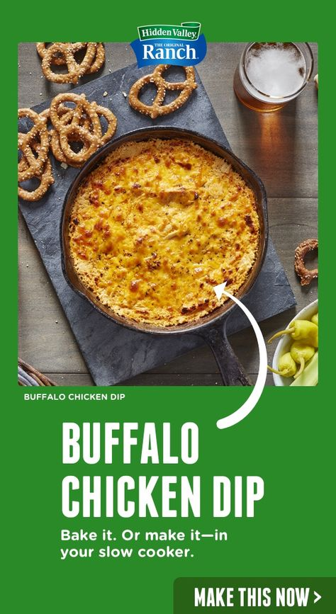 take a victory dip for our buffalo chicken dip recipe it s the perfect game