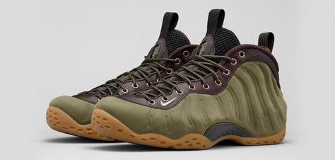 online store 284f8 0f43f Nike Air Foamposite One Olive
