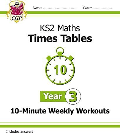 Free Download New Ks2 Maths Times Tables 10 Minute Weekly Workouts Year 3 Cgp Ks2 Maths Author Cgp Books Ks2 Maths Ks1 Maths Math
