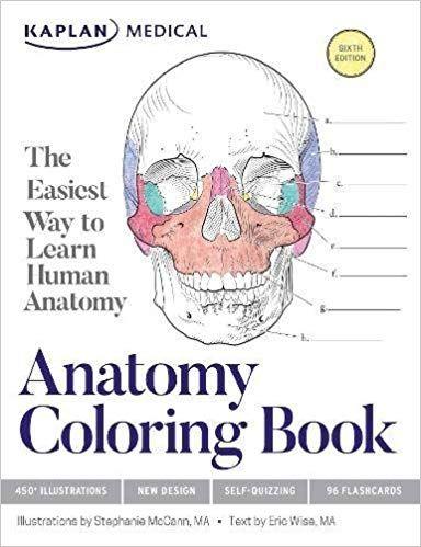 Amazon Com Anatomy Coloring Book 9781506208527 Stephanie Mccann Eric Wise Books Anatomy Coloring Book Nursing Books Coloring Books
