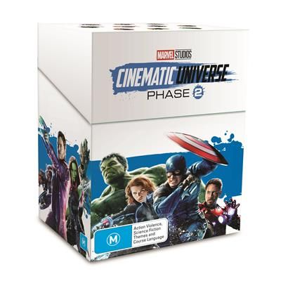 Marvel Studios Cinematic Universe Phase 2 Blu Ray Dvd Jb Hi Fi Movies And Tv Shows Marvel Studios Movie Tv