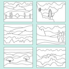 Farbperspektive Landschaft Pdf Canadian Farbperspektive Landschaft Pdf Elementary Art Art Worksheets Teaching Art