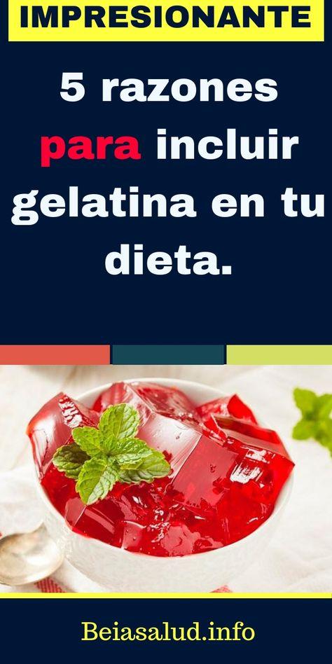 diabetes y carbohidratos dieta gelatina