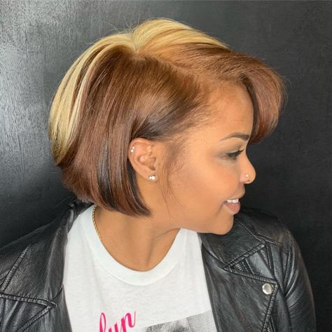 Beautiful short bob hairstyles wigs for black women lace front wigs human hair wigs african american wigs buy now Black Bob Hairstyles, African Hairstyles, Summer Hairstyles, Wig Hairstyles, Straight Hairstyles, Bob Haircuts, Simple Hairstyles, School Hairstyles, Wedding Hairstyles