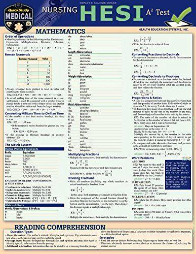 Read Nursing Hesi A2 A Quickstudy Laminated Reference Study Guide Read Pdf Ebook Nursing Math Nursing School Prerequisites Nursing School