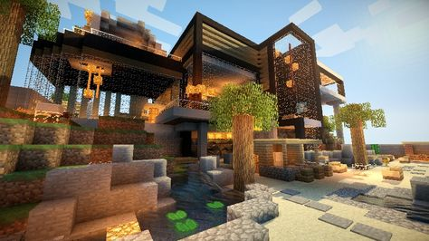 Great Design House Maison Minecraft Maison De Luxe