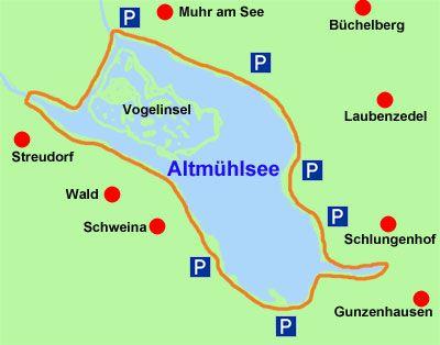 Altmuhlsee Radweg Radtouren Radtour Schonste Wanderwege