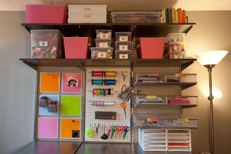 Home office organization: my home office craft room where i spend