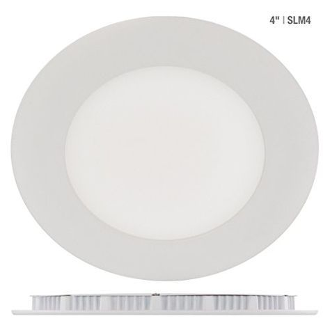 Liteline Slim Led Recessed 4 Inch 9w 680 Lumens Pot Light