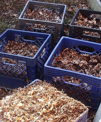 No room for a big compost bin? No problems! Milk crate composting #homesfornature #RSPB