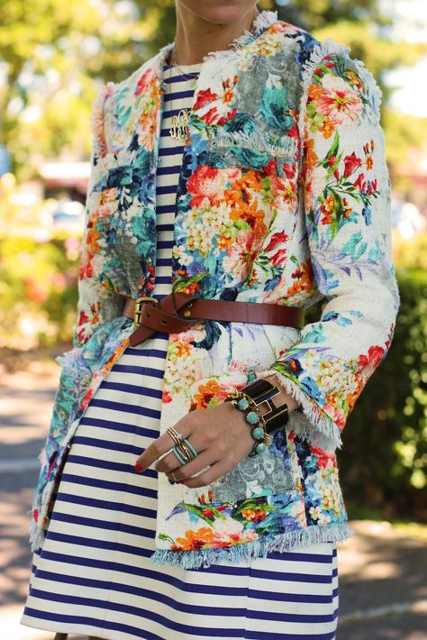 stripes and florals! Atlantic-Pacific: stripes & florals on repeat