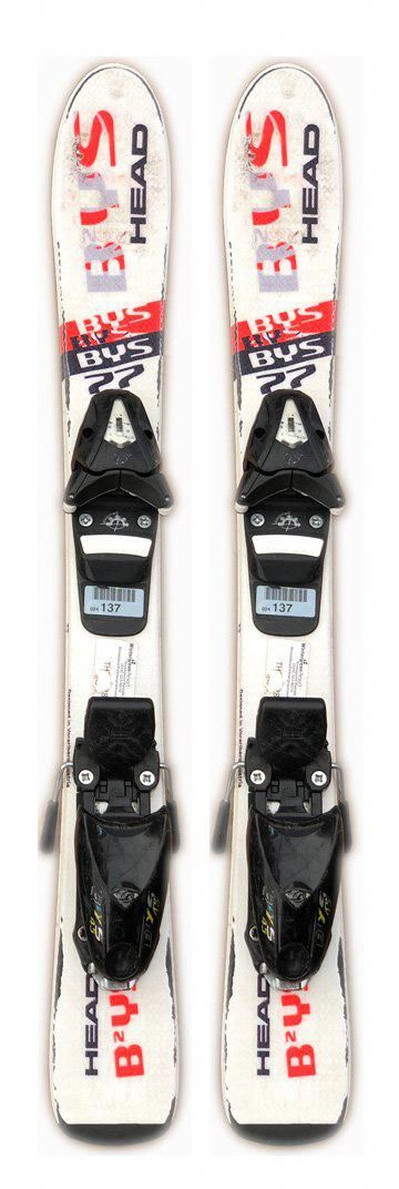 77cm Head Bys Skis And 4 5 Din Bindings Used Kids Youth Package Winter Sports Outfit Skiing Freeride Ski