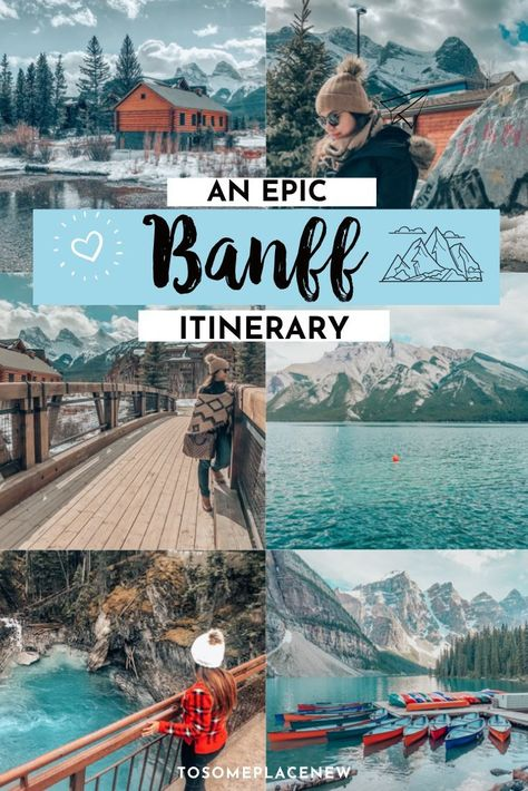 The perfect Banff Itinerary 5 days for non-hikers. Enjoy a gondola ride, hot springs with mesmerising mountain views, relax by lakes & gardens in Banff! Places To Travel, Travel Destinations, Places To Visit, Dream Vacations, Vacation Spots, Quebec, Montreal, Ontario, Vancouver