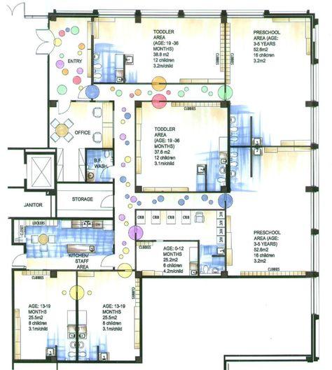 8 Childcare Floor Plans Ideas Daycare Design Daycare Floor Plans Daycare Layout