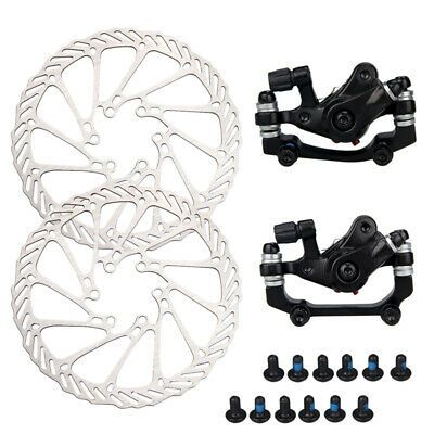 Mechanical Disc Brake Bike Front Rear Caliper Bicycle Cycling MTB Mountain Part
