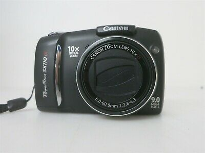 Canon Powershot Sx110 Is 9mp 10x Zoom Digital Point And Powershot Canon Powershot Digital Camera