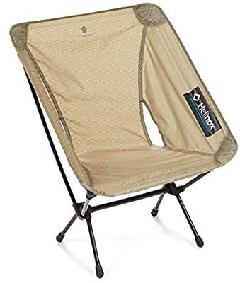 Amazon Com Helinox Chair Zero Ultralight Compact Camping Chair Sand Kitchen Dining In 2020 Camping Chairs Camping Chair Chair