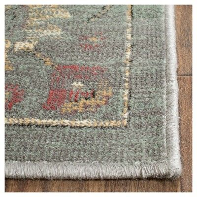 Alessandra Vintage Area Rug Gray Multi 8 X 11 2 Safavieh Vintage Area Rugs Area Rugs Simple Carpets