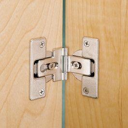 Salice Hinge And Plate For 3 8 Lipped Doors Rockler Woodworking And Hardware Folding Doors Door Hinges Garage Door Design
