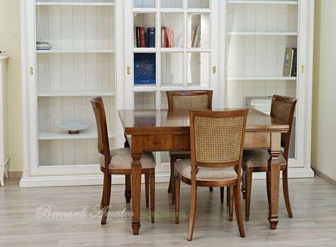 Tavoli Da Cucina Allungabili Classici.Tavolo Allungabile In Stile Classico 120x100 Cm Piano Con