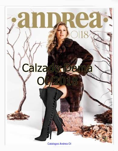 Catalogo Andrea Calzado Dama Otoño Invierno 2018 19