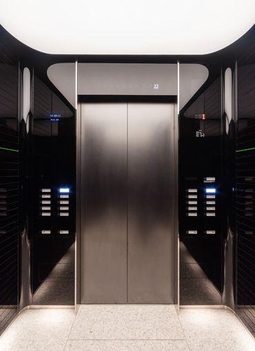 エレベーターかご内 Elevator Design Elevator Interior Hotel Interior Design