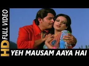 Yeh Mausam Aaya Hai Kitne Saalon Mein Lata Mangeshkar Kishore Kumar Love Songs Hindi Bollywood Music Videos Song Hindi