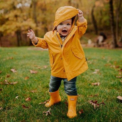 toddler yellow rain jacket