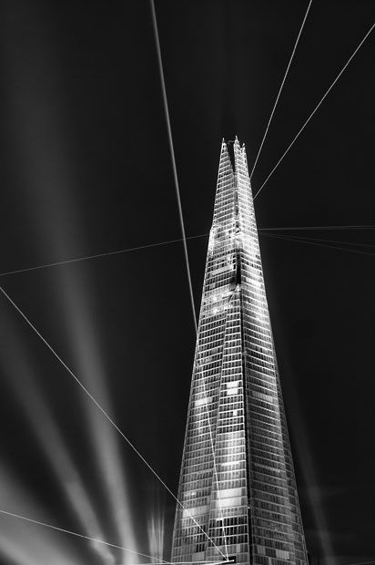 Inauguration at The Shard, London, England by Giles McGarry for Landscape Photographer of the Year Awards 2012