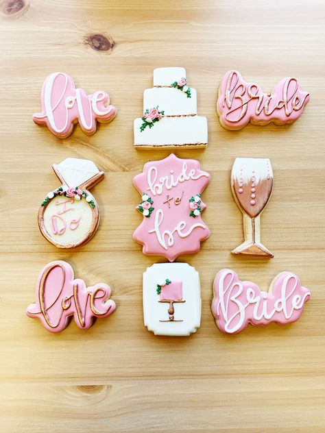 Excited to share this item from my shop: Rose Gold Bridal Shower Cookies, Bridal Shower Cookie Favors, Engagement Party Cookies, Decorated Sugar Custom Cookies Bridal Shower Desserts, Bridal Shower Cakes, Bridal Shower Party, Bridal Shower Decorations, Bridal Shower Treats, Shower Appetizers, Engagement Party Cookies, Wedding Cookies, Engagement Favors