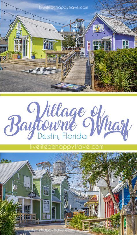 Village of Baytowne Wharf - Destin, Florida - Miramar Beach - things to do