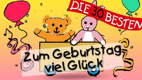 Zum Geburtstag Viel Gluck Traditionelle Kinderlieder