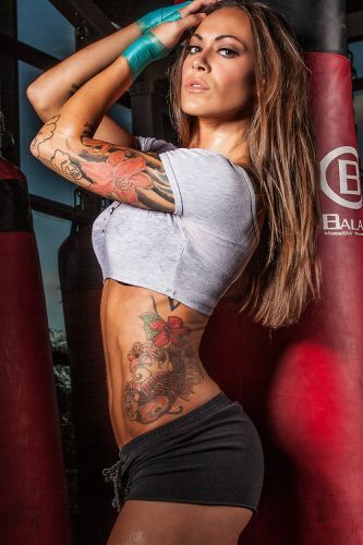 fit girls with tattoos
