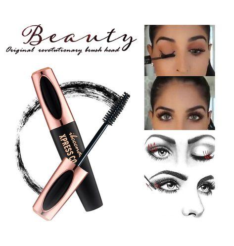 b0386271be5 Womens 4D Silk Fiber Lash Mascara Waterproof Eyelash Thick Lengthening –  KjSelections