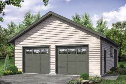 House Plan 963 00537 Modern Farmhouse Plan 0 Square Feet In 2021 Modern Farmhouse Plans Large Garage Plans Garage Plans