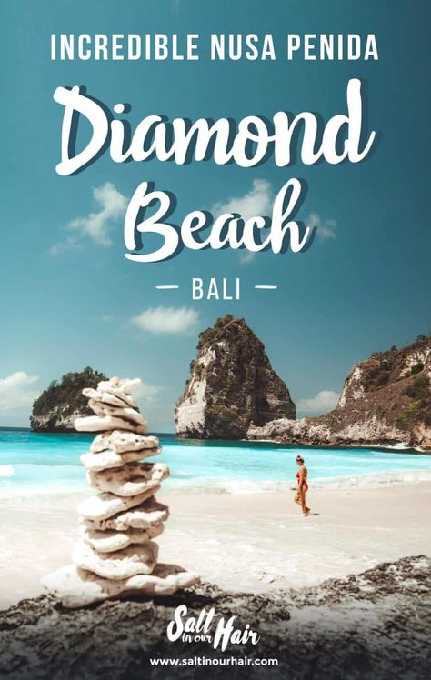 diamond beach nusa penida pin