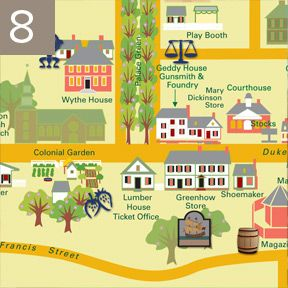 So Far From Scioto Shawnee Hostages In Williamsburg Colonial - Colonial williamsburg map