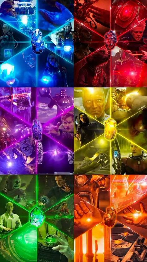 Avengers -The Six Infinity Stons Timeline in Marvel /Video Edit