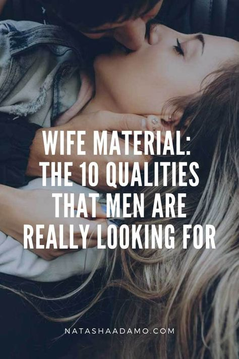 After writing my last post on husband material, I got a lot of requests from my male readers to write a post on wife material - how to find it, attract it, and keep it. When I started to write, I realized that I was pretty much writing the same post (this is why I wrote in the husband material post that