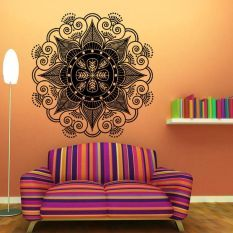 Mandala Flower Indian Bedroom Wall Decal Art Stickers Mural Home